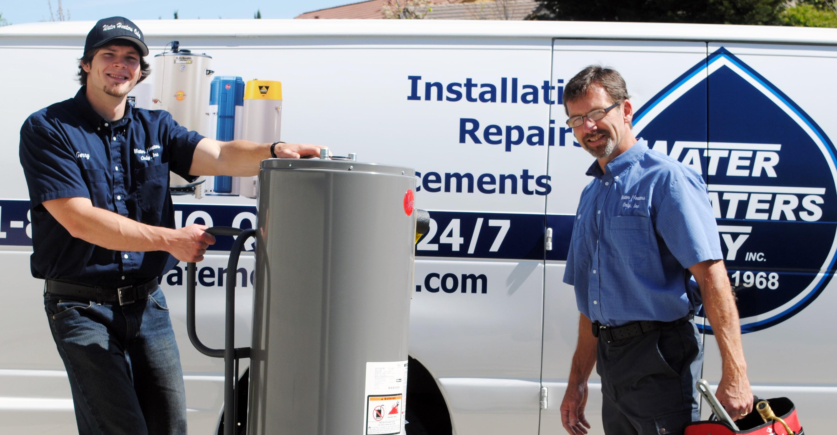 water heater repair bay area